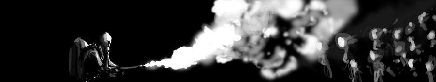 Flammenwerfer by Onichanjo