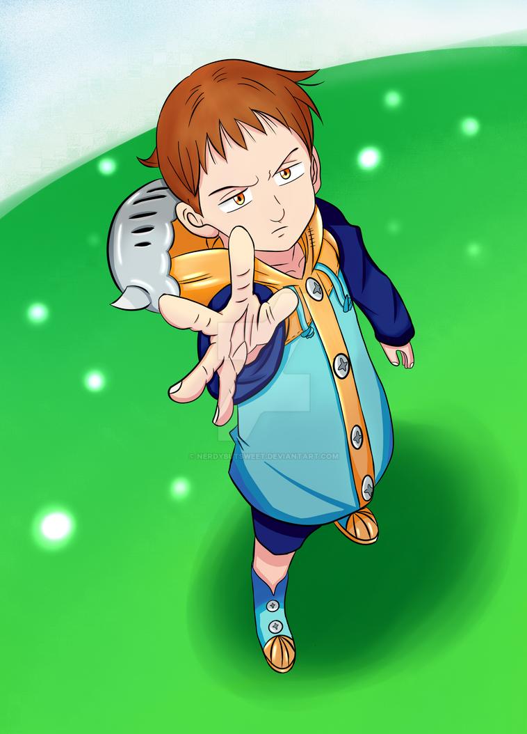 Nanatsu no Taizai - King by NerdyButSweet on DeviantArt