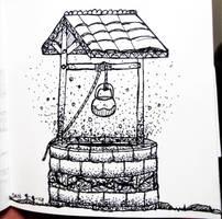 A well full of glitters.