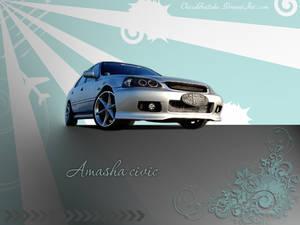 Amasha civic wallpaper