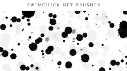 Free Splatter Brushes by zerofiction