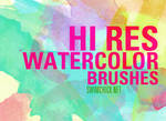 FREE HI RES WATERCOLOR BRUSHES