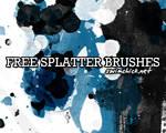 FREE INK SPLATTER BRUSHES