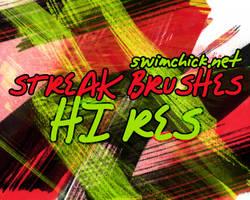FREE HI RES STREAK BRUSHES by zerofiction