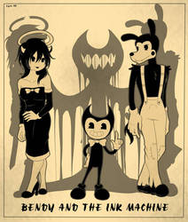 BENDY AND THE INK MACHINE by AOGIRL