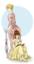 Jane and Lizzy by akiko-darlian