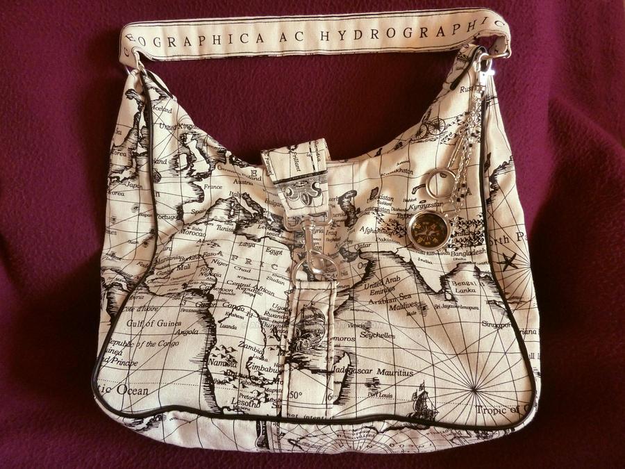 Atomic Artifacts - World Travelers Bag by Anna-Atomic