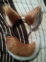 Deer Tail/Ears For Sale! by WhiteLightHeart