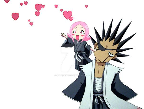 kenpachi and yachiru first meet