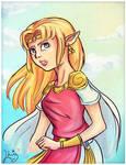 A Link Between Worlds: Zelda