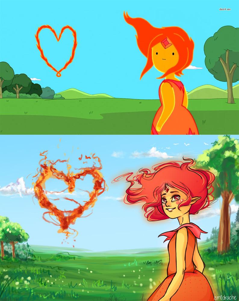 Flame Princess Screenshot Repaint by LizbethLizard