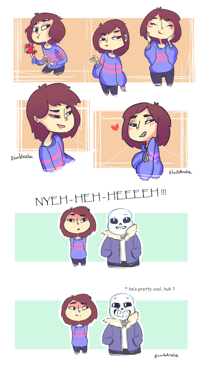 Undertale Friskys 01 by LizbethLizard