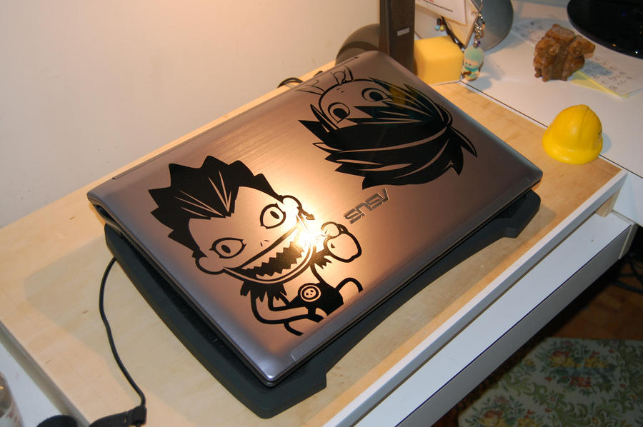 Custom Laptop Vinyl Stickers  By Zelse On DeviantArt - Custom vinyl stickers