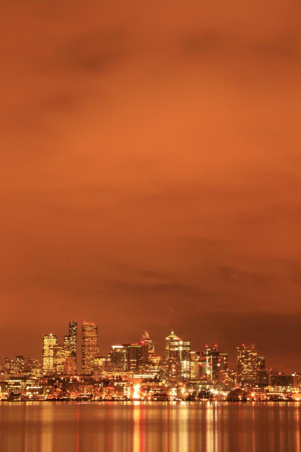 Orange Sky by Telestic