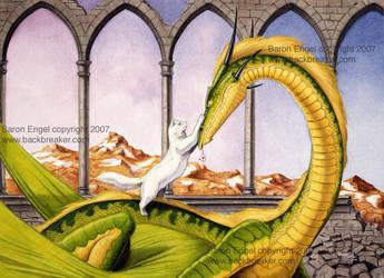 Dragon's treasure by Baron-Engel