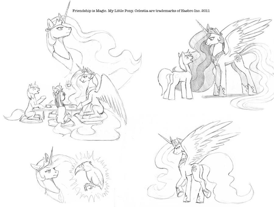 Tea with the Princess. by Baron-Engel