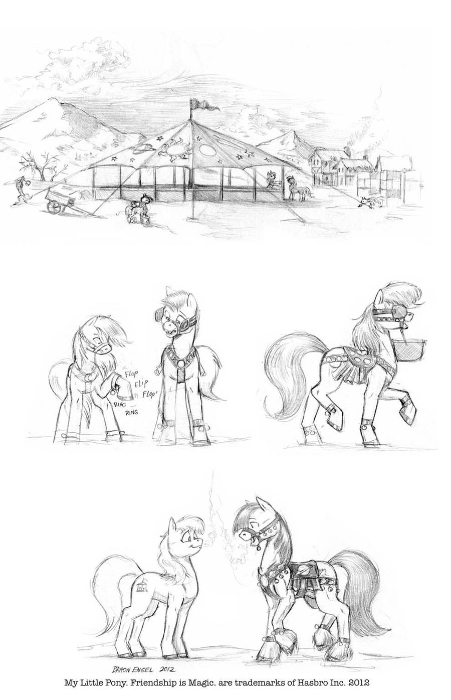 The Winter Carousel Dance. by Baron-Engel