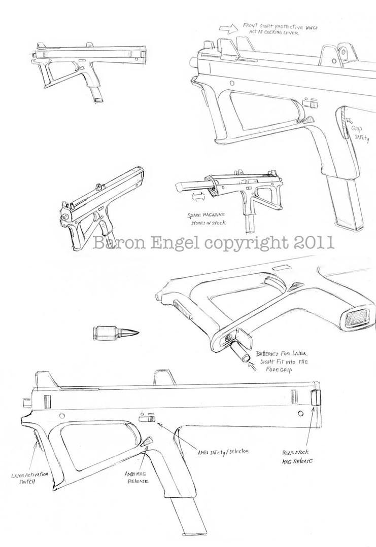 homemade submachine gun plan pdf