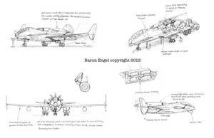 Concept design  bomber-attack aircraft 01