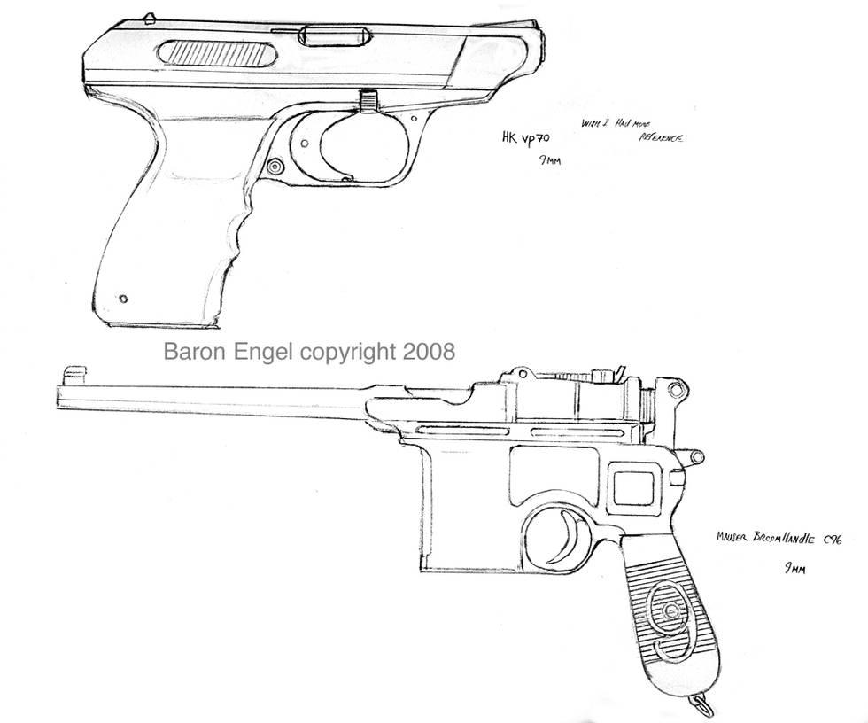 Mauser C96-HK VP70