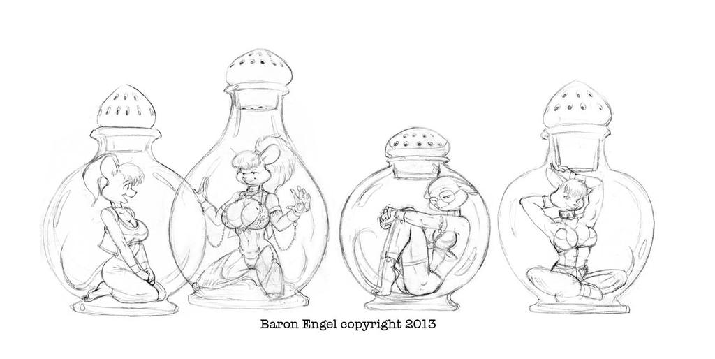 Put your dreams in a bottle by Baron-Engel