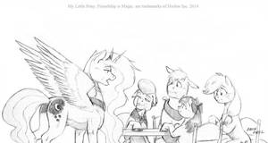 Luna makes her pitch