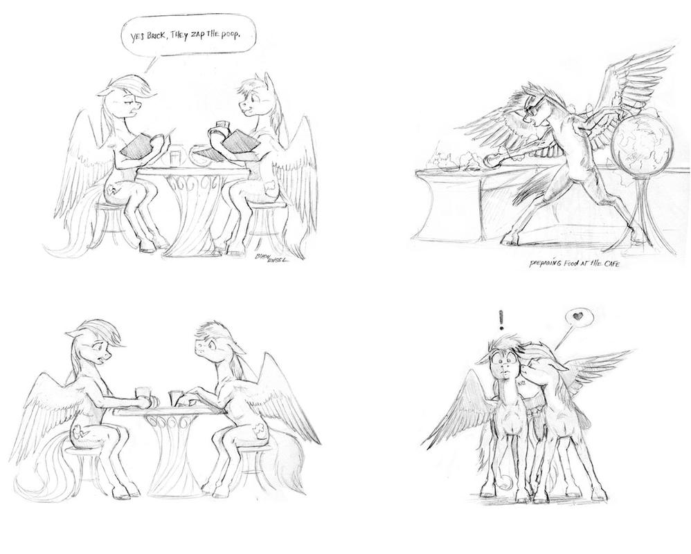 Dinner for two by Baron-Engel