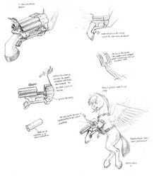 Pegasi Leg gun design