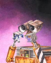 Wall-E playtime