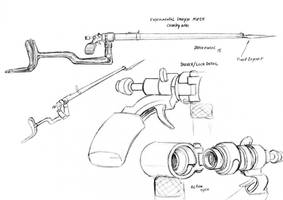 Experimental Dreyse M1855 Cavalry rifle by Baron-Engel