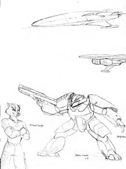 Random Sci-fi art 02