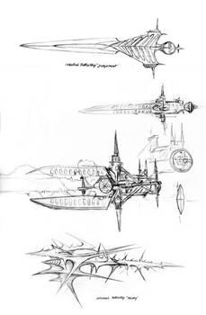 AK-2 Cosmic battleships