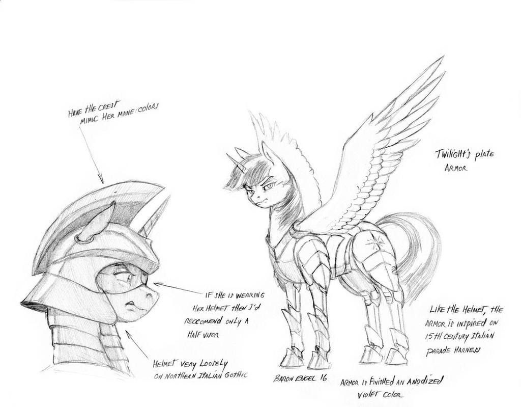 Twilight's armor 01