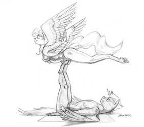 Flight of Inspiration by Baron-Engel