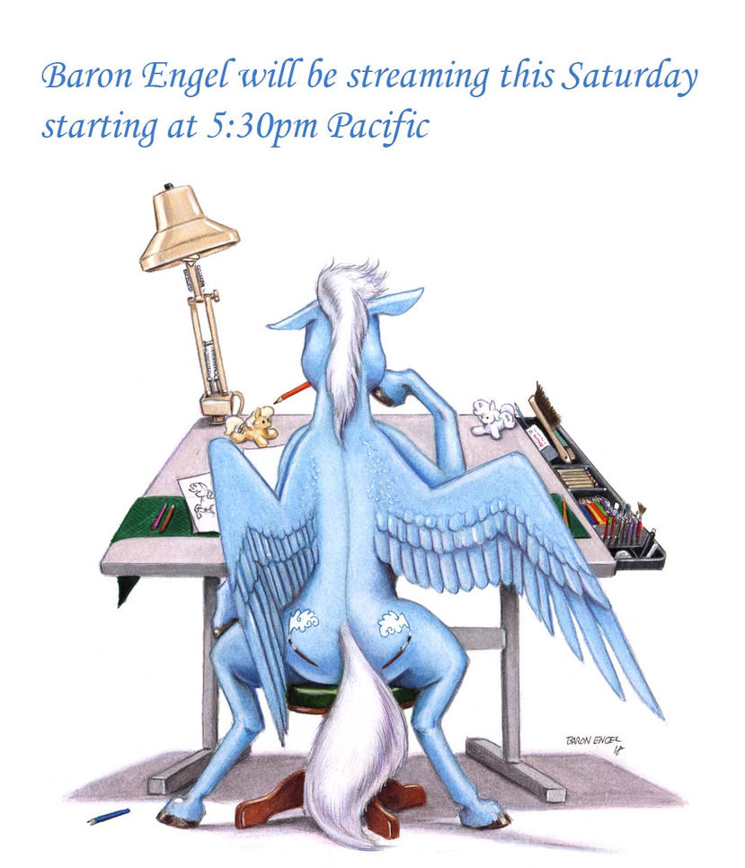 SkyBrush will be streaming by Baron-Engel