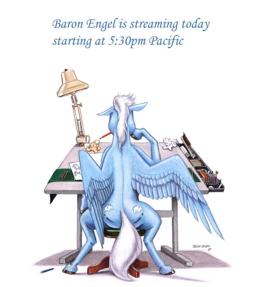 Sky brush Streaming by Baron-Engel