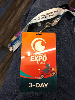 I have my badge