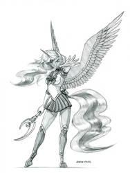 Sailor Luna by Baron-Engel