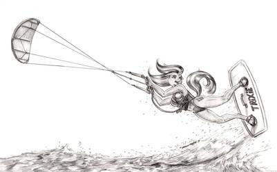 I like kites by Baron-Engel