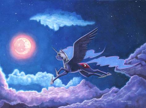 Night Flight. Final Color