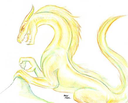 Multi-color dragon