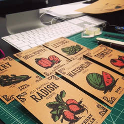 Seed Packets by TwilitTiger