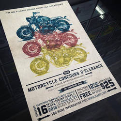 Motorcycle Poster by TwilitTiger