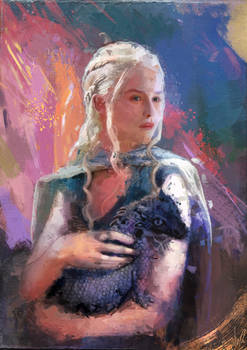 Lady with a Dragon