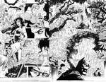 JUSTICE LEAGUE 13 PGS 16 AND 17