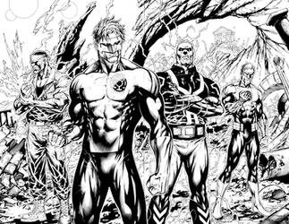 GREEN LANTERN CORPS 59 PGS 4 AND 5 by BATTinks