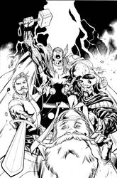 THOR COVER by BATTinks