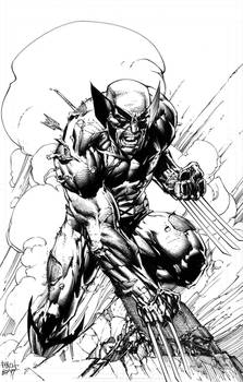 #WOLVERINE 11x17 Inking Commission
