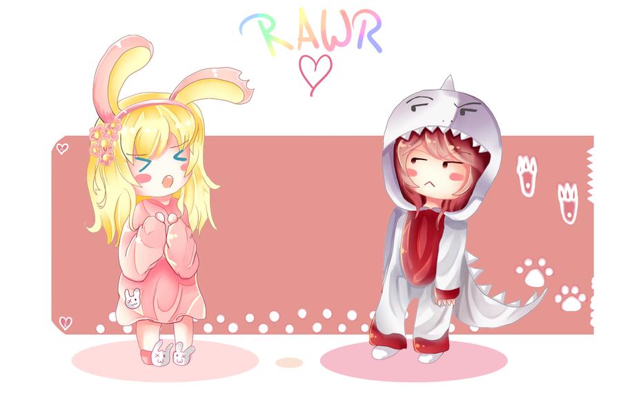 Rawr! by Kaze-Ki