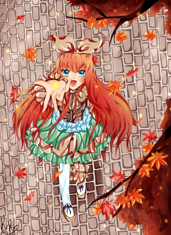 Autumn is coming. by Kaze-Ki